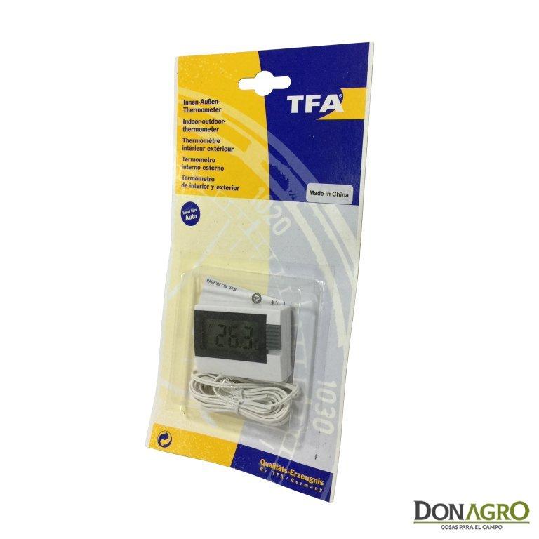 3eede0e3d Termometro Digital TFA Interior y exterior - Don Agro