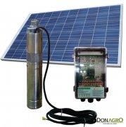 Bomba Solar Sumergible kit con soporte y panel 5000 lts/dia