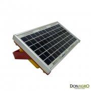 Boyero Electrificador Solar con bateria Agrotronic 1.25j 30km