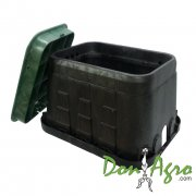 Caja Plástica Hunter rectangular estandar 12""