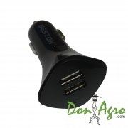 Cargador Turbo 12v 2.1A doble USB