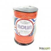 Cinta Electroplastica Naranja  200 mts 5 hebras 12mm Rolin