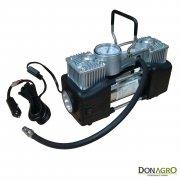 Compresor 12v 150 PSI 2 Cil. Daza Maletin