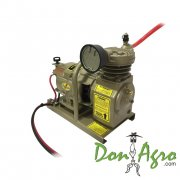 Compresor 12v portatil 1 HP 120lbs