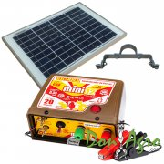 Kit Boyero Electrificador Solar Picana ENERTIK 20km 0.35j