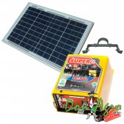 Kit Boyero Electrificador Solar Picana FIASA 40km 1.25j