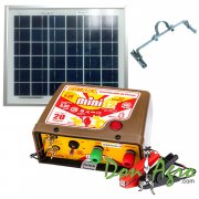 Kit Boyero Electrificador Solar Picana SOLARTEC 20km 0.35j