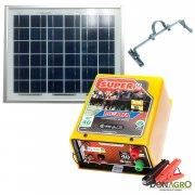Kit Boyero Electrificador Solar Picana SOLARTEC 40km 1.25j