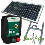 Kit Boyero Electrificador Solar Stafix ENERTIK 70km 2,0j