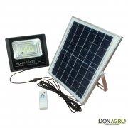 Luminaria LED Solar 40w con control remoto