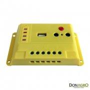 Regulador de voltaje carga solar 10 amp 12v/24v