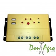 Regulador de voltaje carga solar 20 amp 12v / 24v