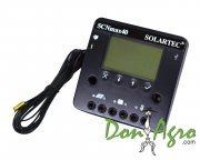 Regulador de voltaje carga solar 40 amp 12v / 24v SOLARTEC