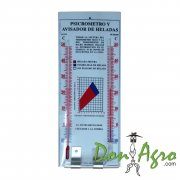 Termometro Psicometro Aviso de Heladas