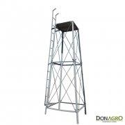 Torre para tanque Cilindrico de 3000lts