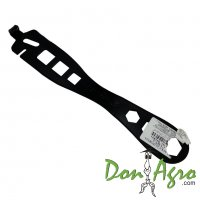 Llave california curva