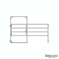 Puerta en panel Lemsco para equinos 1.50 alto