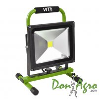Reflector LED 12v 30w 1950lm Bateria Recargable