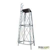 Torre para tanque Cilindrico de 8000lts