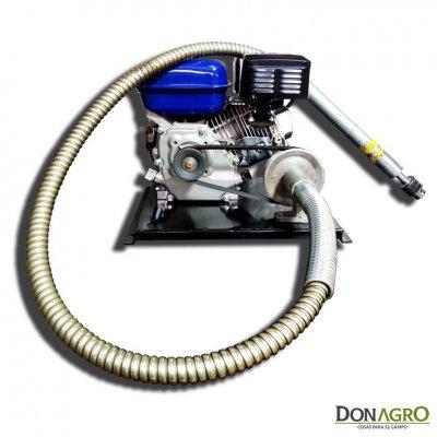 Agujereadora eje flexible completa con motor