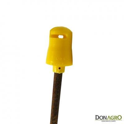 Aislador campanita para hierro de construccion