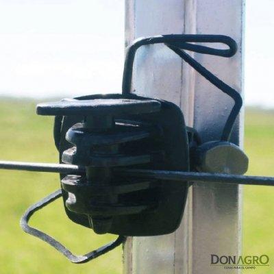 Aislador para poste Metalico Acindar