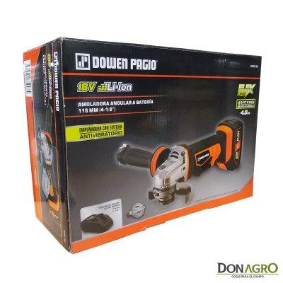 Amoladora Angular a Bateria Dowen Pagio 115mm 18V 4A