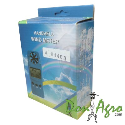 Anemometro Digital 3 en 1 WS4003 Five Oceans