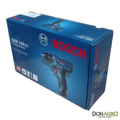 Atornillador Taladro Inalambrico Bosch 12v 10mm GSR 120-LI