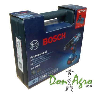 Atornillador Taladro Percutor Bosch 18v 13mm Inalambrico GSB 180-LI