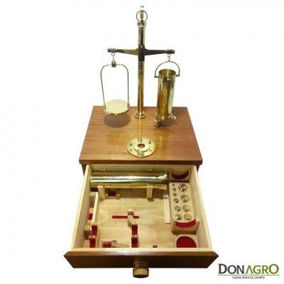 Balanza de precisión para peso hectolitrico