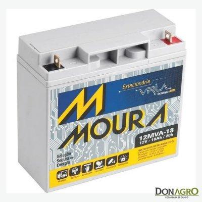 Bateria de Gel 12v 18 Amp. Moura