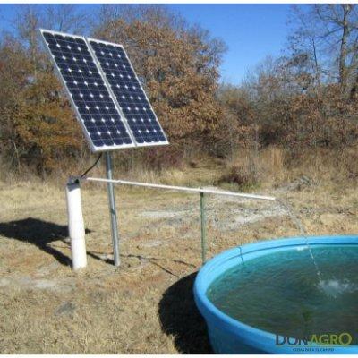 Bomba Solar Sumergible 19.000 Lts/dia c/ 2 paneles 315w