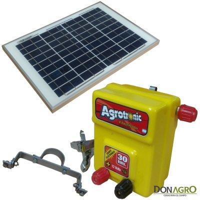 Boyero Electrificador Solar Agrotronic ENERTIK 1.10j 30km