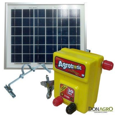 Boyero Electrificador Solar Agrotronic SOLARTEC 1.10j 30km