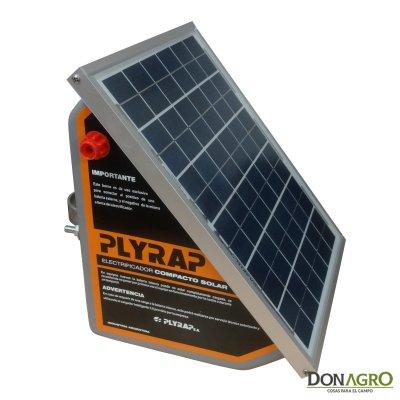 Boyero Electrificador Solar con Bateria Plyrap 3.9j 75km