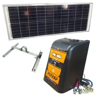 Boyero Electrificador Solar Plyrap SOLARTEC 6.0j 120km