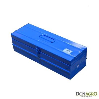 Caja Metalica Azul N°5