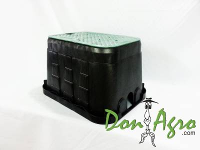 Caja Plástica Hunter rectangular estandar 12