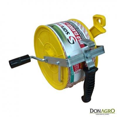 Carretel plastico con 750m de Electropiolin San Miguel