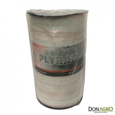 Cinta Electroplastica 200 mts 10 hebras 50mm Plyrap