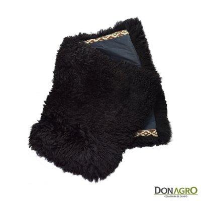 Cojinillo Pellon Negro Natural Cuero