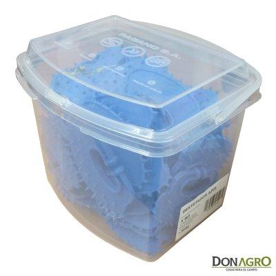 Destetador Plastico Azul