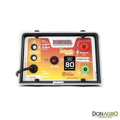 Electrificador Dual con batería Picana 80km 2.5j