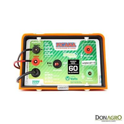 Electrificador Dual Picana 60km 1.7j