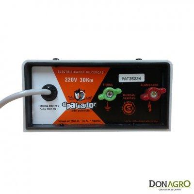 Electrificador Pateador 12v 30km