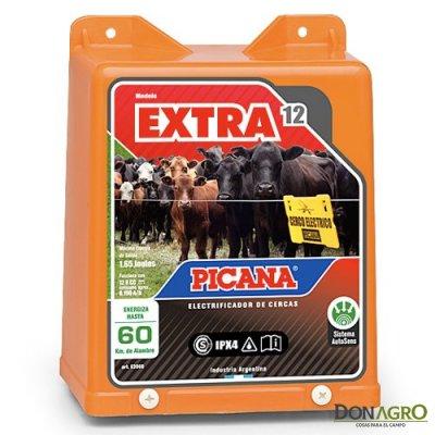 Electrificador Picana 12v 60km 1.7j