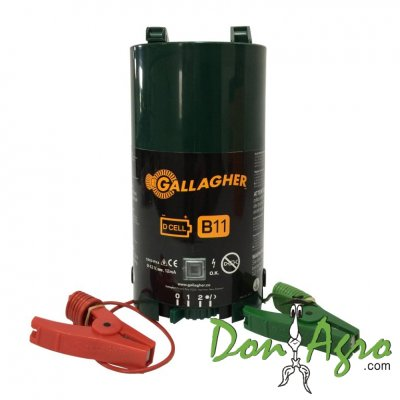 Electrificador portable a bateria B11 Gallagher