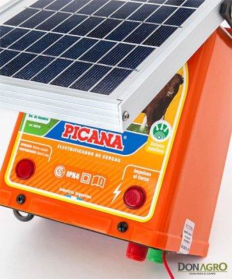 Electrificador solar con bateria Picana 20km 0.35j
