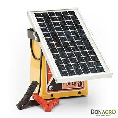 Electrificador Solar Picana 20km 0.35j